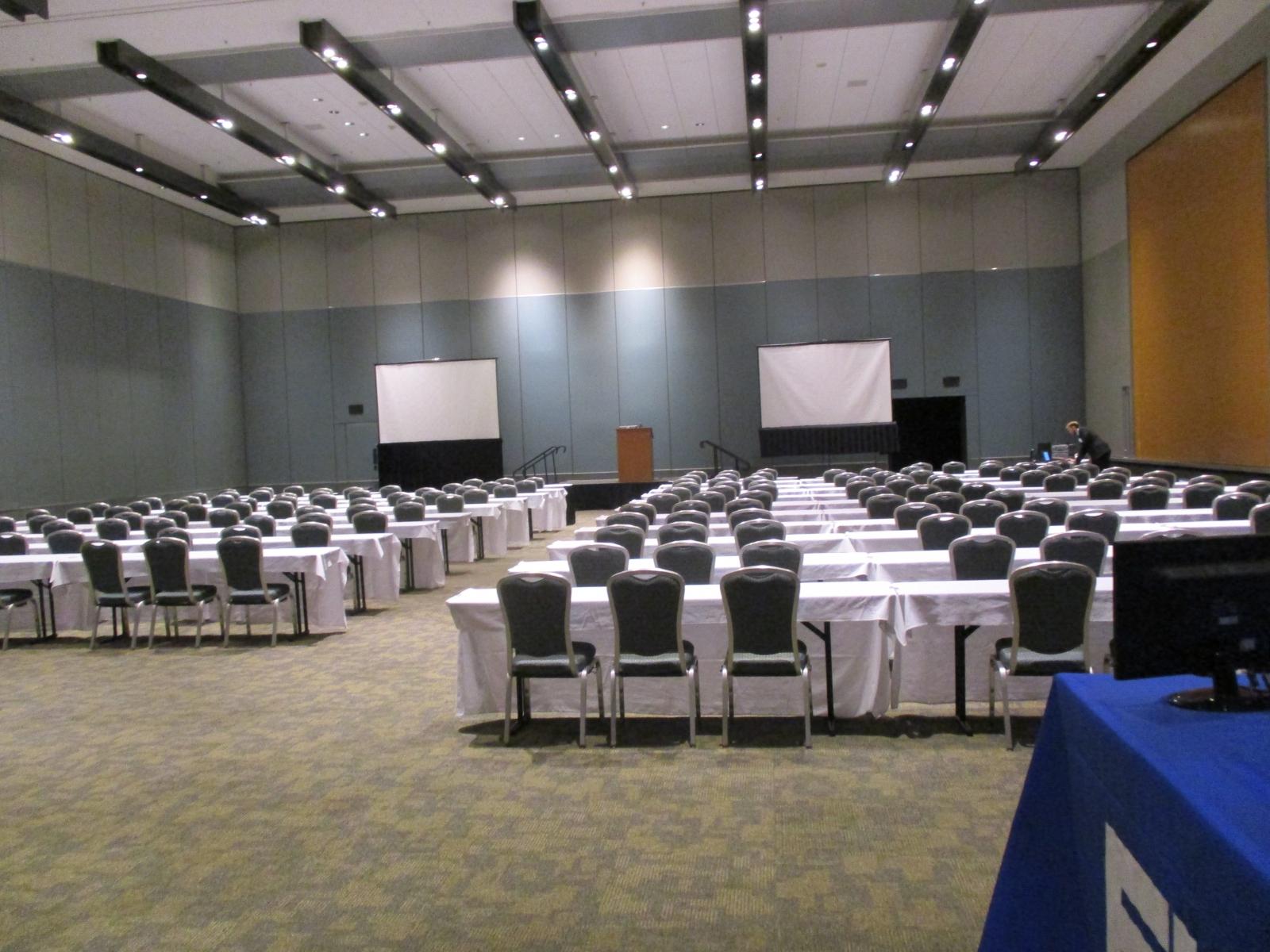 Ballrooms B & C, Hampton Convention Center